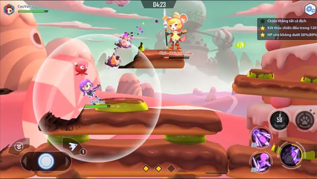 Cơ chế bắn không đợi lượt của GunPow 3D làm mỗi trận chiến đều khó đoán