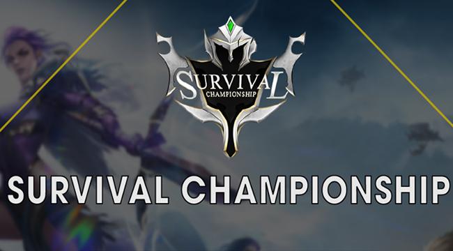 Survival Heroes công bố lịch thi đấu chính thức của giải Survival Championship 1