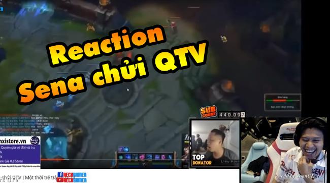 LMHT: QTV cười bò khi xem Thầy Giáo Ba reaction vụ Sena chửi QTV ngày xưa