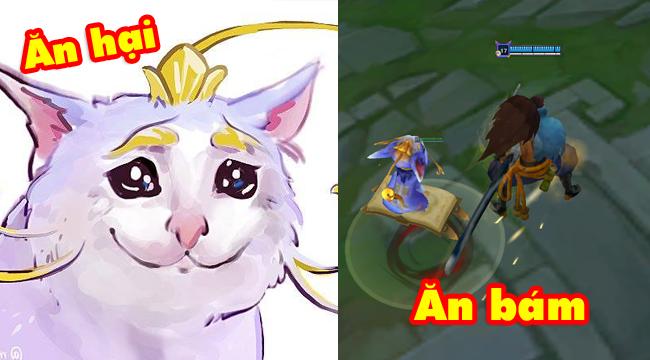 Liên Minh Huyền Thoại: Game thủ than phiền tướng mới Yuumi rút cuộc chỉ là con mèo ăn bám như ngoài đời