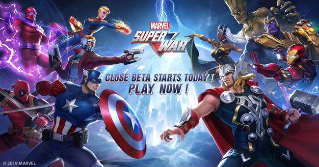 MARVEL Super War : game MOBA lấy đề tài siêu anh hùng do NetEase phát hành