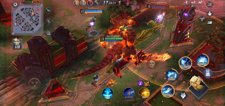 Trải nghiệm Marvel Super War – một đối thủ đáng gờm cho những MOBA mobile khác