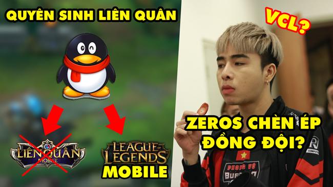 Update LMHT: Tencent quyên sinh Liên Quân để mở đường cho LOL Mobile – Zeros bị tố chèn ép đồng đội