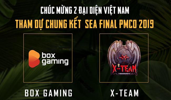 Đã tìm ra 2 đại diện của Việt Nam sẽ tham gia chung kết khu vực Đông Nam Á PMCO 2019