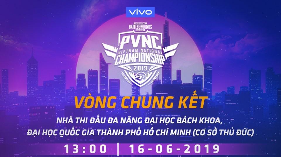 Chung kết PUBG mobile PVNC 2019: 16 đội tuyển chính thức lộ diện