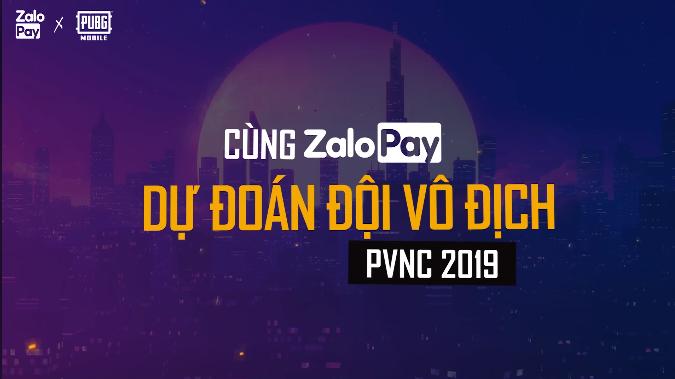 Nhân dịp chung kết PVNC 2019, VNG ra mắt sự kiện dự đoán kết quả giải đấu