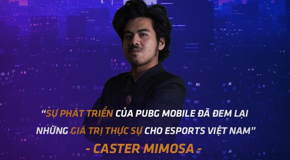 """Caster Mimosa: """"Sự phát triển của PUBG Mobile đã đem lại những giá trị thực sự cho eSports Việt Nam"""""""