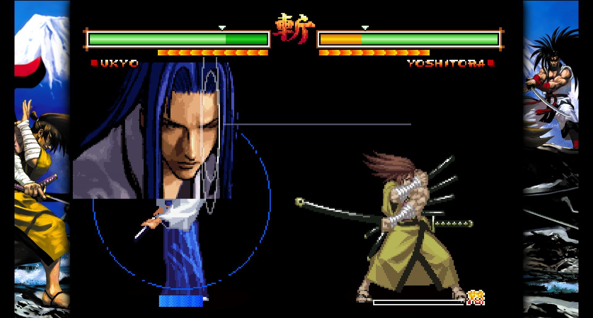 Samurai Shodown V Special – Hiệp Sĩ Mù có sự trở lại trên Steam