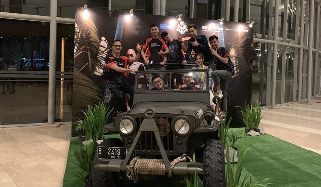 Những hình ảnh đầu tiên của 2 đội tuyển PUBG Việt Nam tại chung kết PUBG Mobile Đông Nam Á