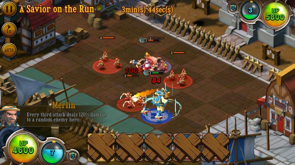 First Hero – Game chiến thuật thả quân kết hợp quản lý của Webzen