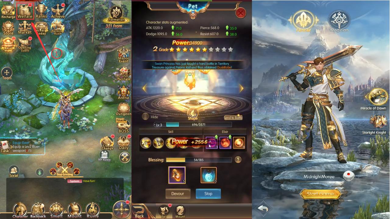 Crasher: Origin – game MMORPG màn hình ngang đầy lý thú