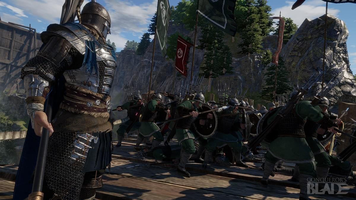 Conqueror's Blade : game công thành chiến siêu đỉnh đã bước sang Open Beta miễn phí