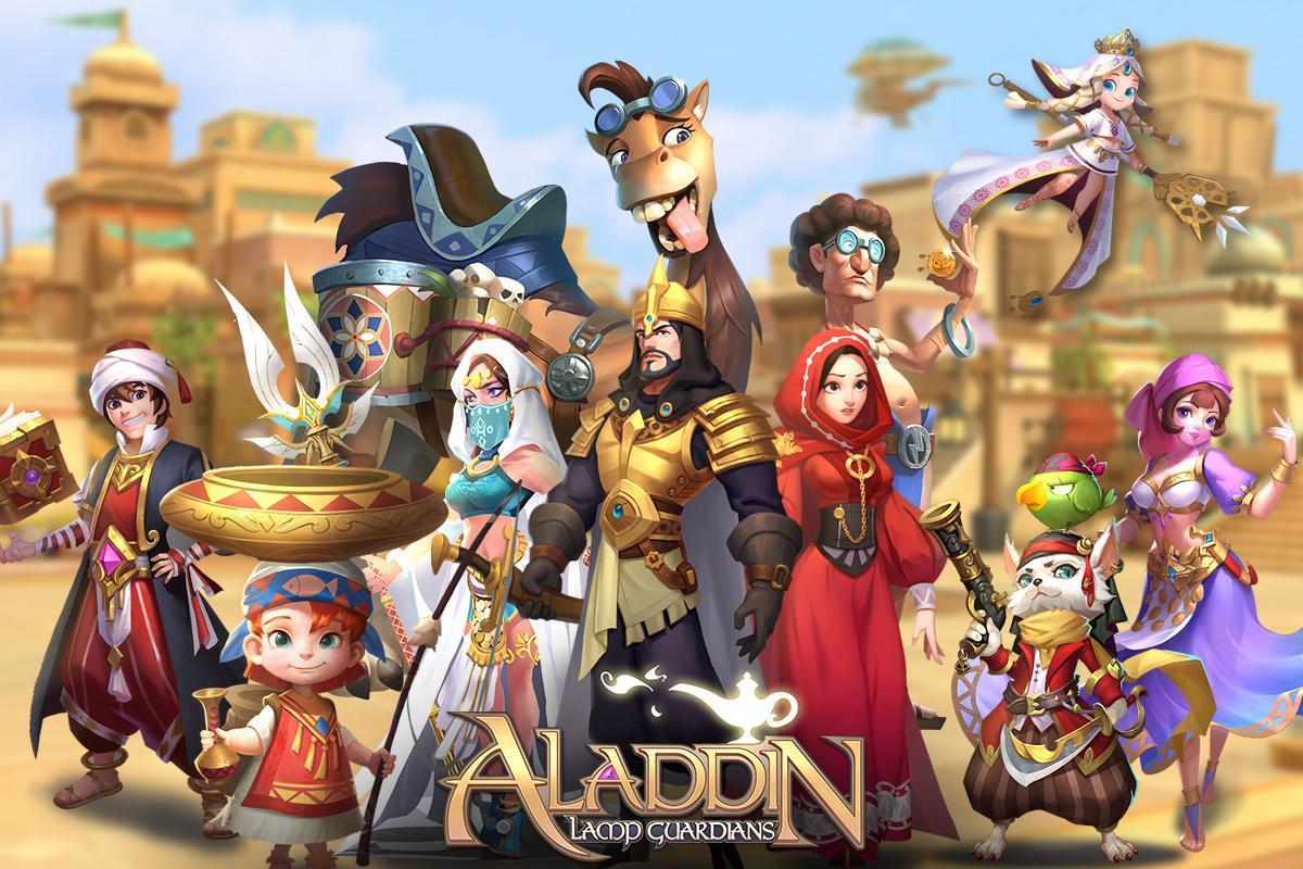 Aladdin: Lamp Guardians – game đấu thẻ tướng lấy đề tài Aladdin vừa ra mắt