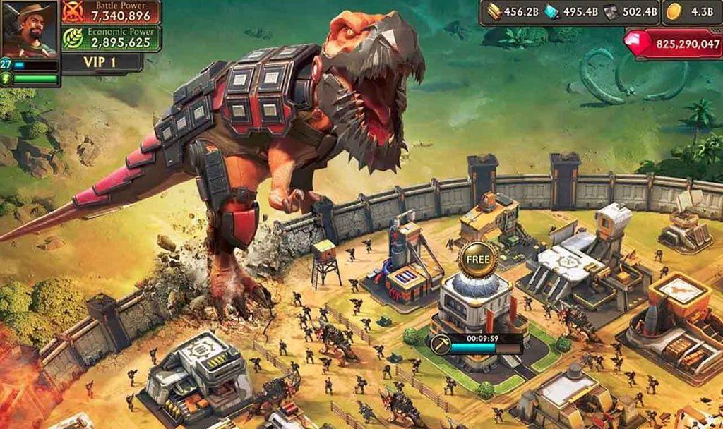 Dino War: Rise of the Beast – tựa game chiến thuật với dàn lính khủng long cực độc