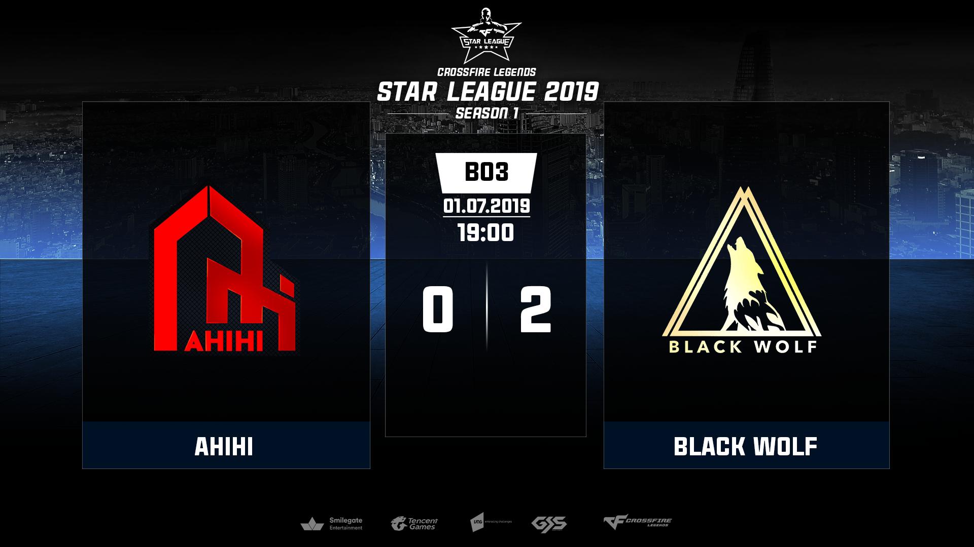 CrossFire Legends: Black Wolf xuất sắc có mặt tại chung kết Star League 2019