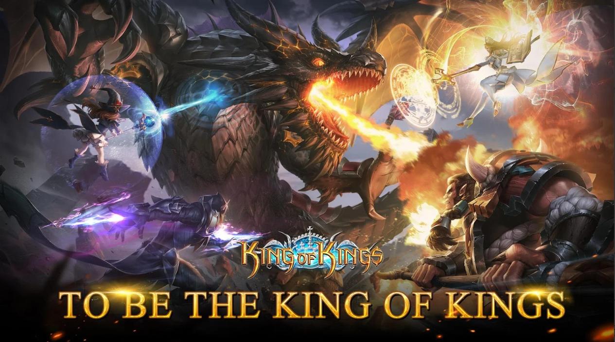 King of Kings – MMORPG cực hay của Tencent đã chính thức ra mắt