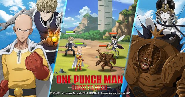 """One Punch Man: Road to Hero – game thẻ tướng lấy đề tài """"thánh Phồng"""" Saitama"""