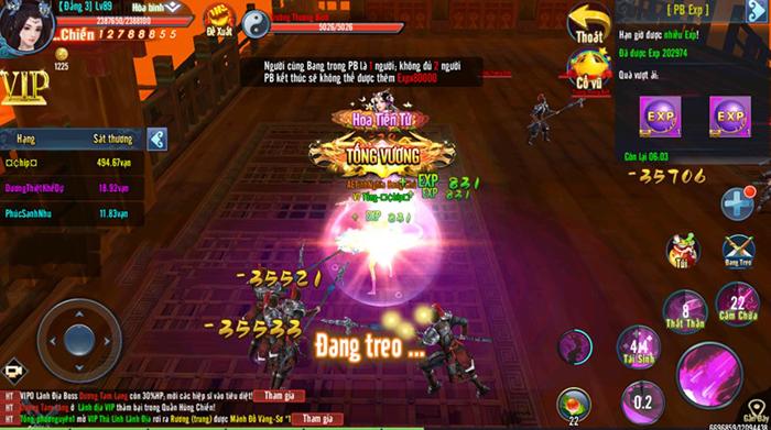 Văn hóa PK khát máu trong Hành Tẩu Giang Hồ Mobile là thứ tạo nên đặc trưng của game