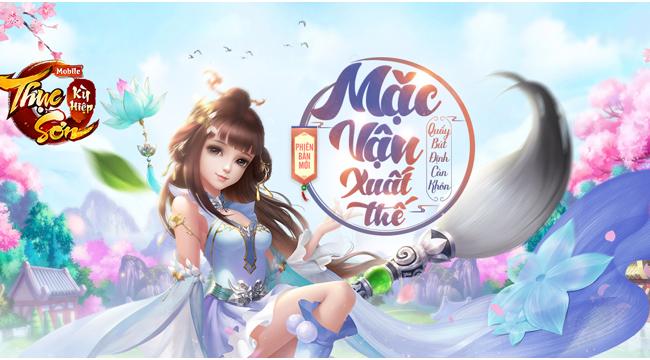 Xemgame gửi tặng 300 giftcode game Thục Sơn Kỳ Hiệp Mobile nhân dịp update Mặc Vận