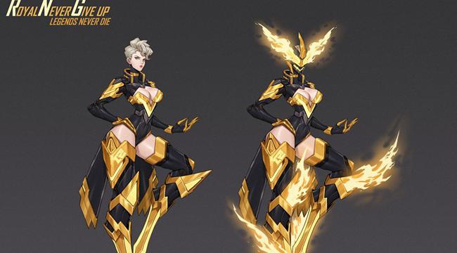 LMHT: Fan thiết kế bộ skin có 2 cơ chế tuyệt đẹp dành tặng riêng cho đội tuyển Royal Never Give Up