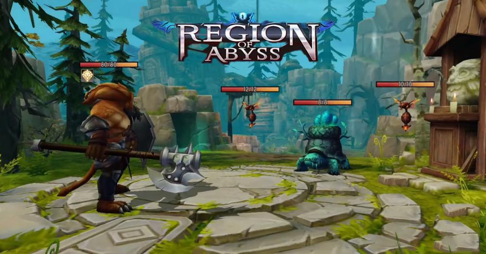 Region of Abyss – game thẻ bài với các phân lớp nhân vật nhập vai độc đáo