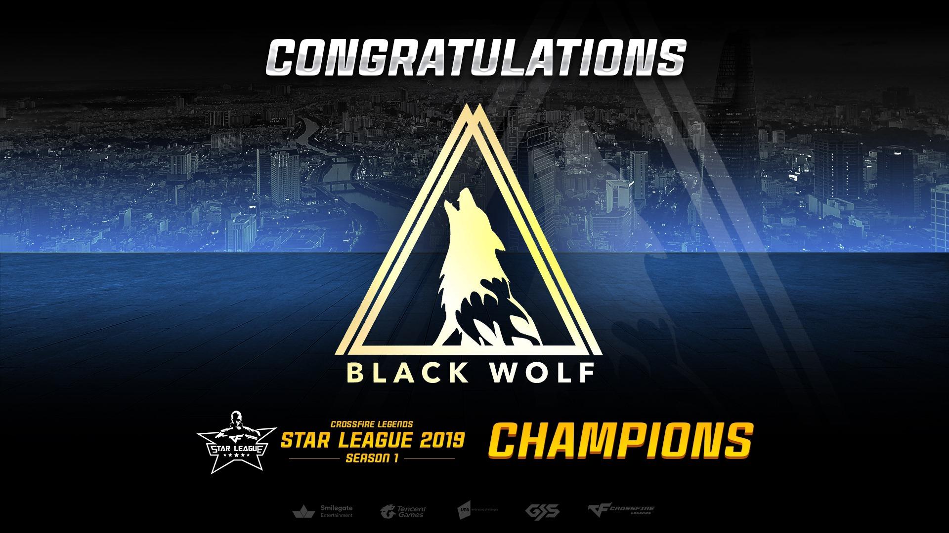 CrossFire Legends: Giành chiến thắng 3-1, Black Wolf chính thức trở thành tân vương Star League