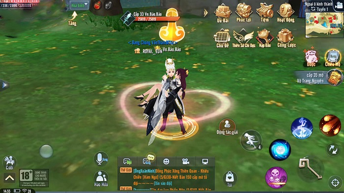 Giang Hồ Ngoại Truyện Mobile và những tính năng được game thủ đánh giá cao