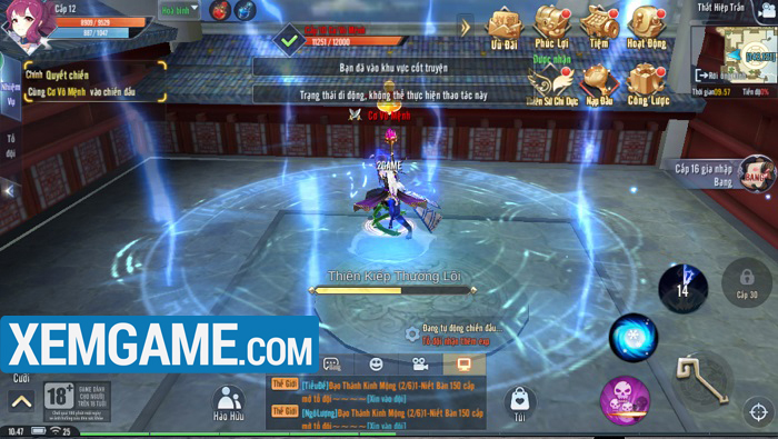 Giang Hồ Ngoại Truyện Mobile   XEMGAME.COM