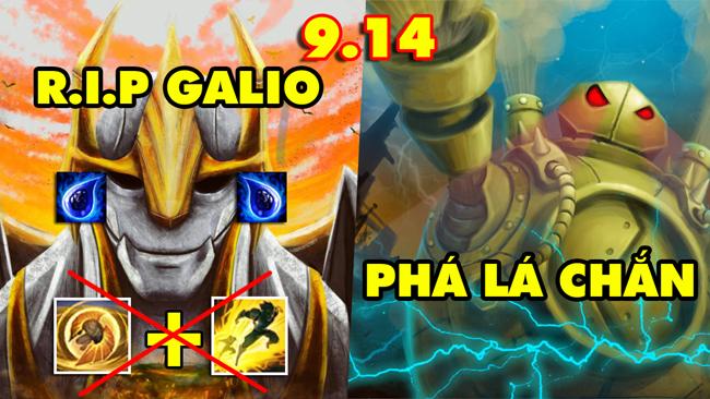 TOP 13 thay đổi Siêu To Khổng Lồ trong LMHT 9.14: Tạm biệt Aatrox, Galio, Akali – 5 cơ chế mới