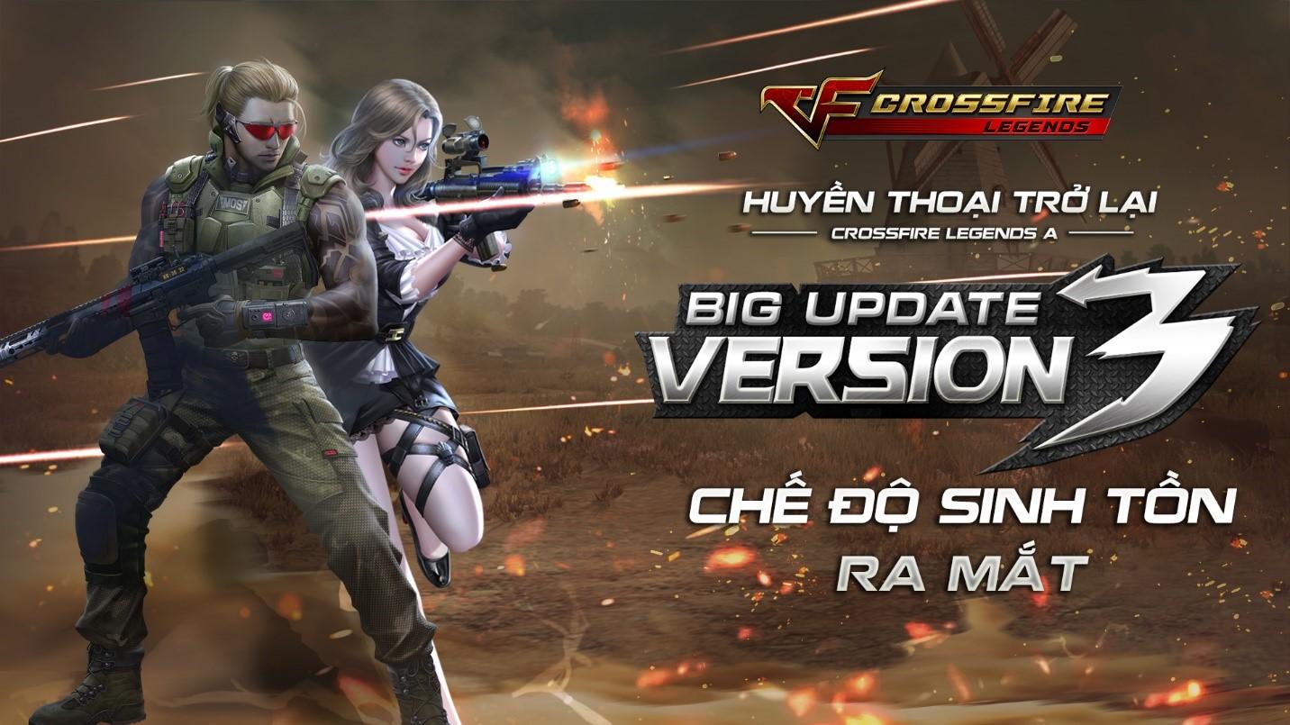 CrossFire Legends: Big Update V3 Huyền Thoại Trở Lại ngày 30/7 này
