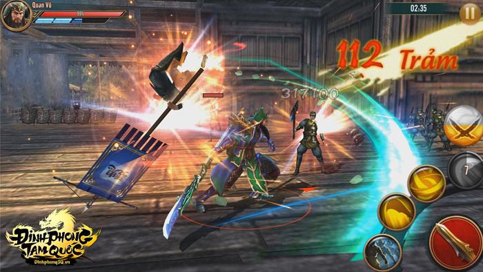 Nếu bạn là fan của Dynasty Warriors thì đừng nên bỏ qua Đỉnh Phong Tam Quốc