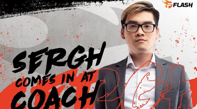 Liên Minh Huyền Thoại: Sergh chính thức trở thành huấn luyện viên của Team Flash