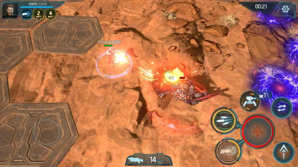 Gigantic X – game bắn súng siêu đẹp mắt ra mắt bản game chính thức