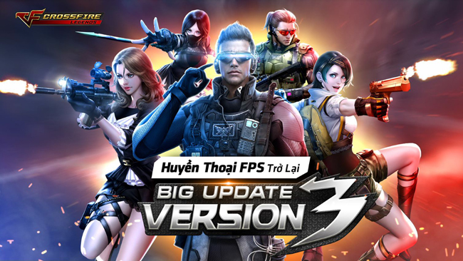 CrossFire Legends: Khám phá 4 nhân vật VIP trong bản cập nhật Android Big Update V3 mới nhất