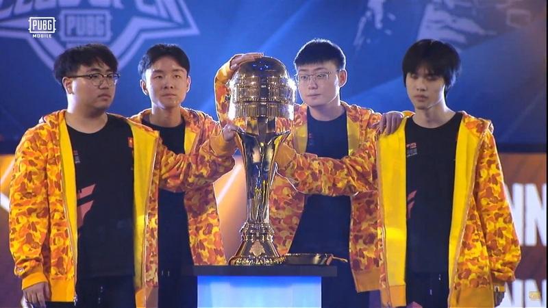 Chung kết PUBG Mobile thế giới : bảng vàng gọi tên TOP Esports