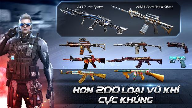 CrossFire Legends: Giải mã sức mạnh bộ đôi vũ khí M4A1-Born Beast Silver và Anaconda-Born Beast