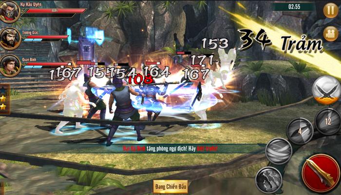 Đỉnh Phong Tam Quốc cho người chơi tha hồ tạo ra bản sắc chiến đấu của riêng mình