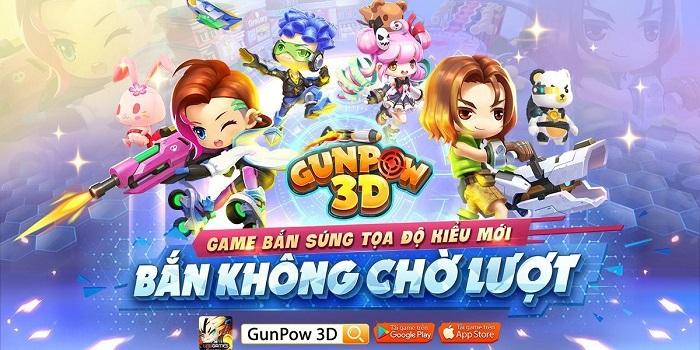 GunPow 3D tiếp tục khởi động đợt Alpha Test 2 và hoàn trả 100% thẻ nạp