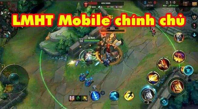 Liên Minh Huyền Thoại: Riot và Tencent vô tình để lộ gamelay của LOL Mobile?
