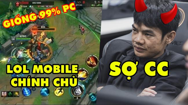 Update LMHT: LOL Mobile bị lộ gameplay siêu HOT giống 99% PC, HLV Tinikun chửi thề ngay trên FB