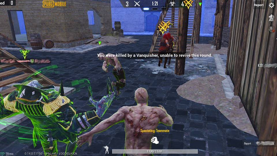 PUBG mobile : 3 loại zombie bạn phải đối đầu trong chế độ Lây Nhiễm mạnh như thế nào?