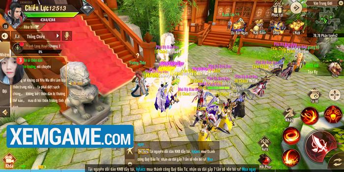Thiên Kiếm Mobile   XEMGAME.COM