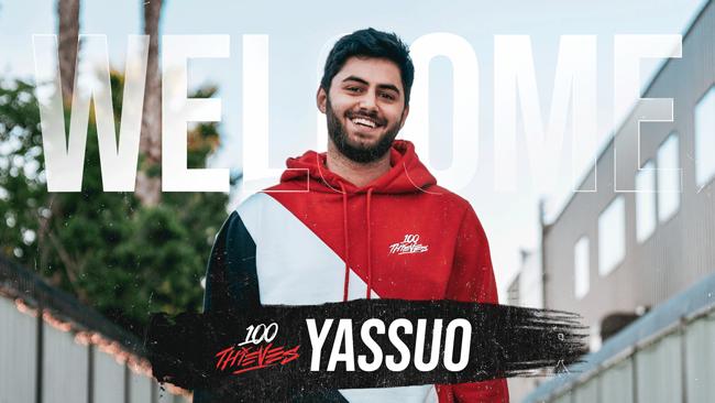 """Liên Minh Huyền Thoại: Best """"Đấng"""" thế giới Yassuo chính thức gia nhập 100 Thieves"""