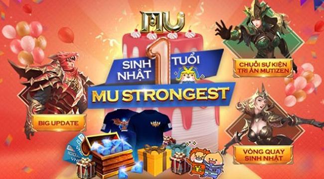 MU Strongest VNG có chuỗi sự kiện hấp dẫn chào đón sinh nhật 1 tuổi
