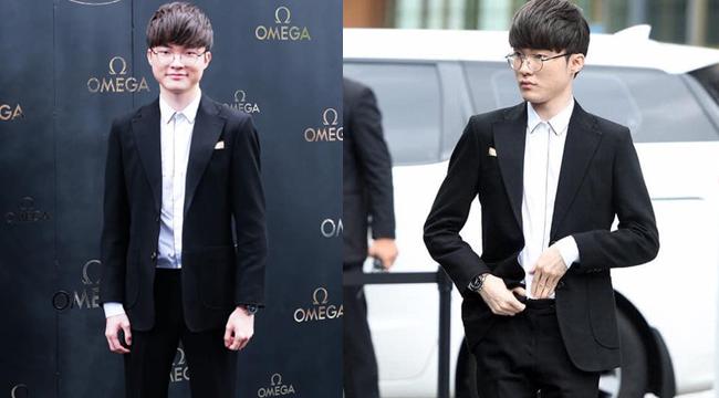 LMHT: Faker diện vest đi sự kiện sang chảnh chẳng kém gì các siêu sao Hàn Quốc