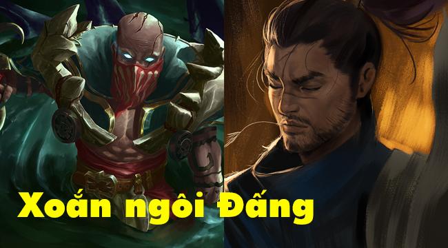 Vị thế độc tôn của Yasuo trong Liên Minh Huyền Thoại đã bị Pyke cướp mất