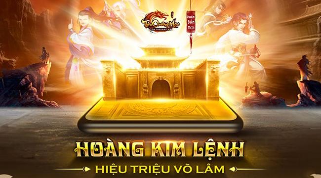 Tân Chưởng Môn VNG  sắp ra mắt Big Update Hoàng Kim Lệnh với nhiều điều mới lạ