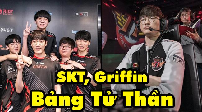 """Phản ứng của người Hàn về 2 bảng tử thần của SKT và Griffin: """"Lịch sử CKTG từng có cái bảng quái thai nào như bảng C này chưa?"""""""