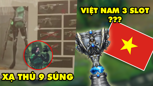 Update LMHT: Riot làm lộ Xạ Thủ mới với 9 khẩu súng – Việt Nam sắp có 3 vé đi CKTG?