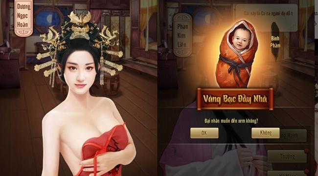 Lão Gia Lốc Cốc cho phép người chơi cưới vợ đẻ con vô cùng chân thật